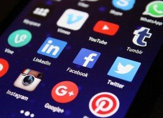 verschillende social media